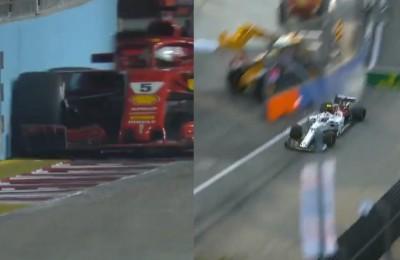 Ferrari, hai fatto la scelta giusta? Nelle libere di Singapore miglior tempo di Raikkonen, Vettel e Leclerc a muro