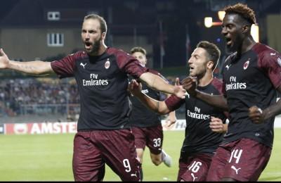 """Europa League, Milan e Lazio vincono ma che fatica contro le """"cenerentole"""""""
