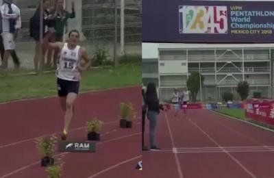 Pentathlon, beffa atroce: esulta già, ma viene battuto e perde il titolo di campione del mondo