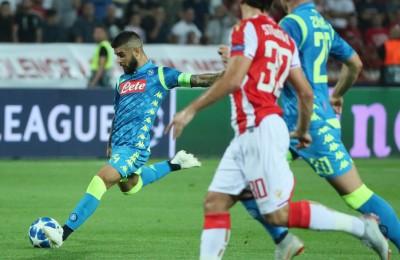 """Il Napoli domina ma non sfonda: 0-0 in casa della Stella Rossa. Ancelotti accusa: """"Maestri nel perder tempo"""""""