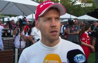 """Vettel, frecciata alla Ferrari: """"Corro contro 3 macchine, inclusa quella del mio compagno"""""""