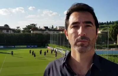 Nazionale: la pallonata di un azzurro sfiora l'inviato Rai Antinelli