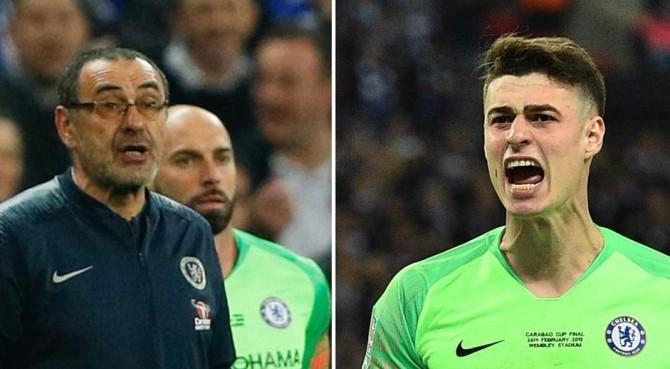"""Sarri, la lite con Kepa? """"Malinteso"""". Ma il Chelsea è pronto a esonerare l'allenatore"""