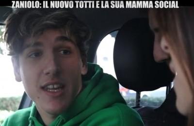 """Giù le mani da Zaniolo! No alle domande hot sulla mamma, tifosi della Roma contro le """"Iene"""""""
